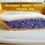 Okinawan sweet potato pie